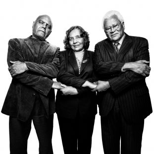 Bob Moses, Diane Nash, & Reverend James Lawson