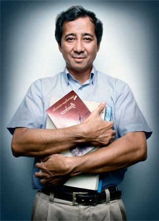 Win Min, a leader of the 1988 pro-democracy demonstrations in Burma