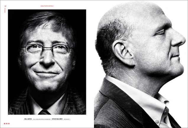 wired magazine, bill gates & tim cook