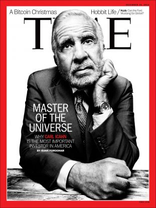 time magazine, carl icahn