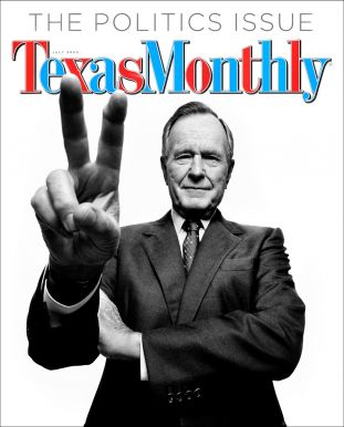 texas monthly, george h w bush