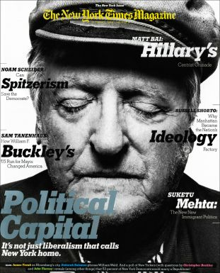 new york times magazine, william f buckley