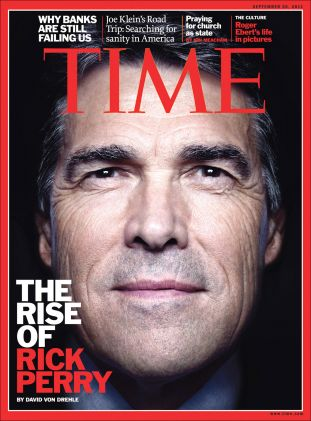 time magazine, rick perry