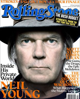 rolling stone, neil young