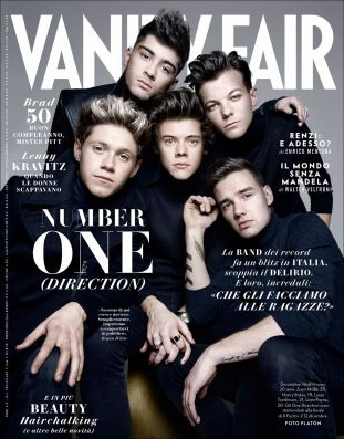 vanity fair italy, one direction