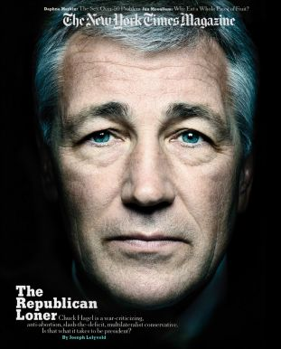 new york times magazine, chuck hagel