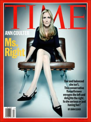 time magazine, ann coulter