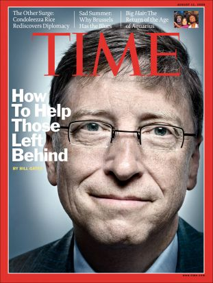 time magazine, bill gates