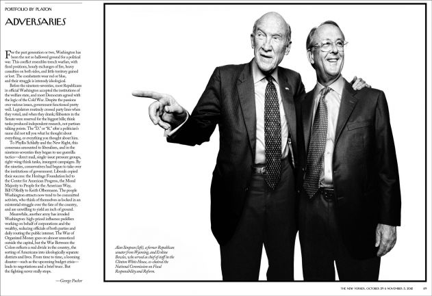 the new yorker, politics portfolio