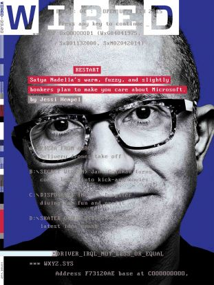 Wired, Satya Nadella