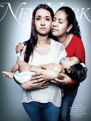 new york magazine, immigration cover three